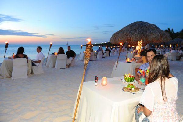 Beachfront Dining Aruba Restaurants