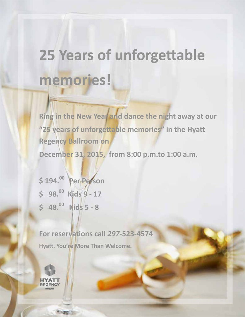 New Years Eve Hotel Specials