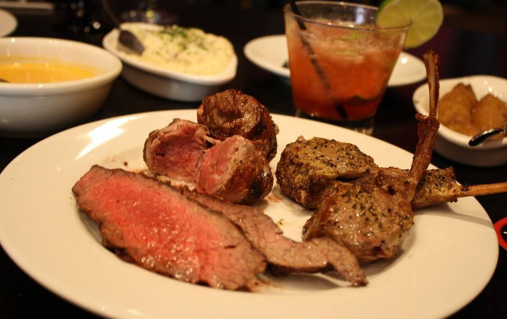 Texas de Brazil Brazilian Steakhouse is a chain restaurant cooking and serving-up authentic and high quality Brazilian-American fare across the continental United States.